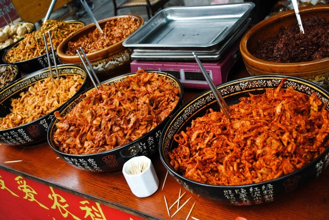 UNESCO Creative Cities of Gastronomy: Chengdu, China has plenty of spicy pickles and food