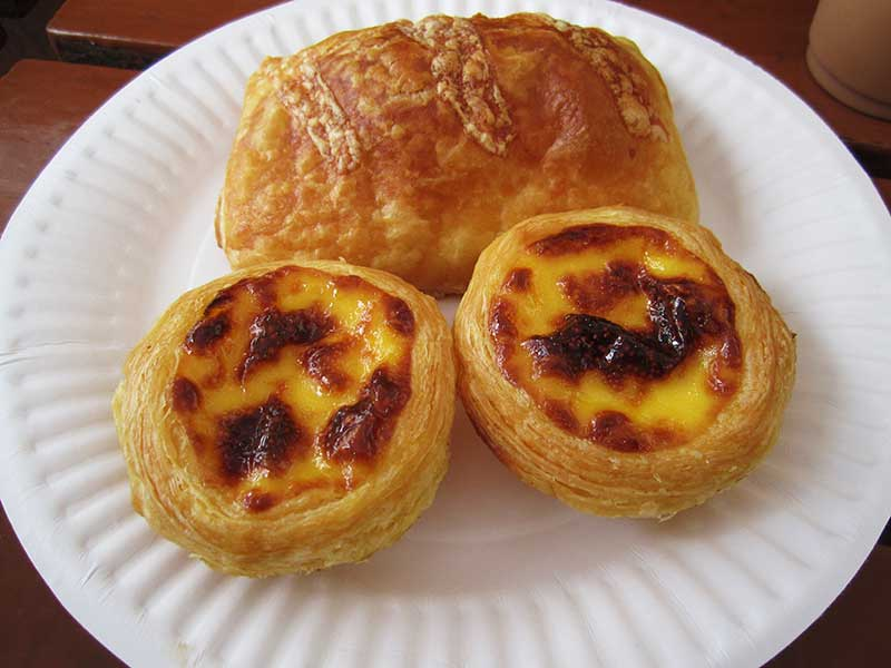 UNESCO Creative Cities of Gastronomy: Macau, China is famous for Portuguese egg tarts and desserts