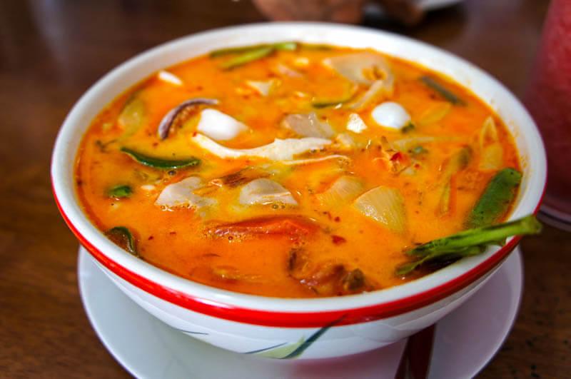 UNESCO Creative Cities of Gastronomy: Phuket, Thailand's tom yum soup