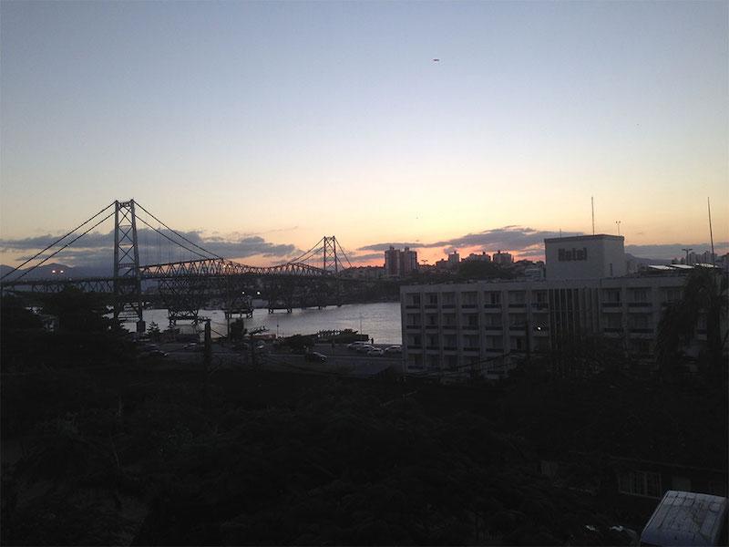 UNESCO Creative Cities of Gastronomy: Florianópolis, Brazil's view of the iron bridge