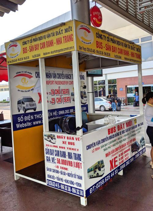 Nha Trang 3 Day Itinerary: Cam Ranh Airport to Nha Trang Bus