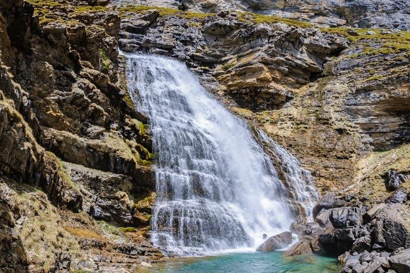 Cola de Caballo Waterfall, Spain