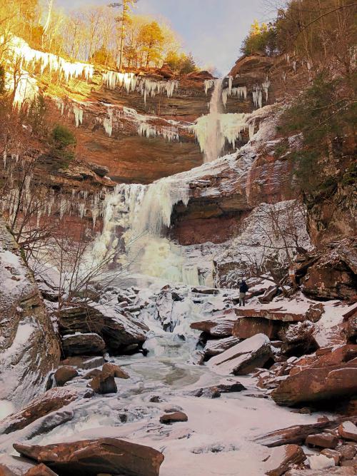 Kaaterskill Falls in New York