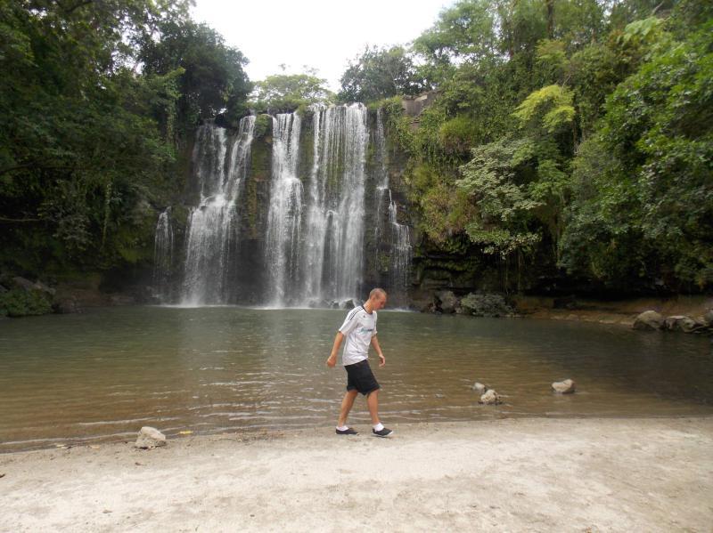 Llanos De Cortez Waterfall, Costa Rica