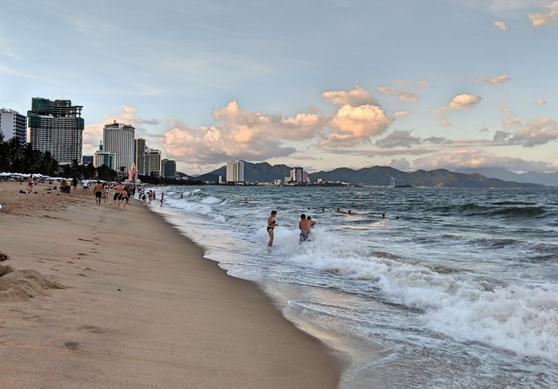Nha Trang 3 Day Itinerary: Visit the beach