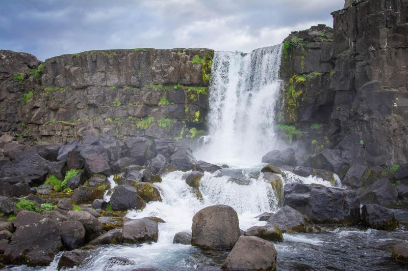 Oxarafoss, Iceland