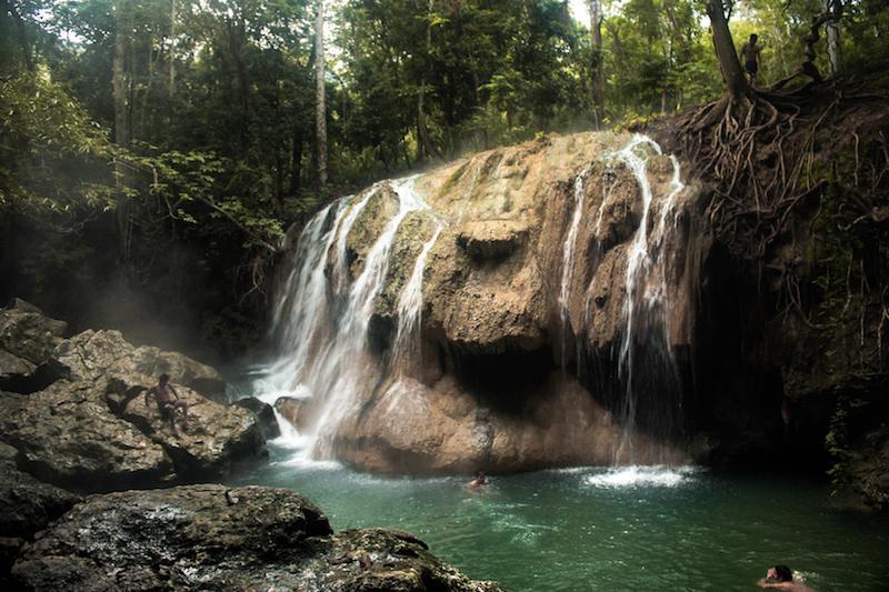 Rio Dulce Waterfall, Guatemala