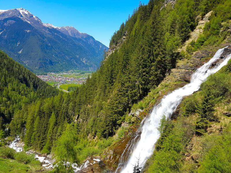 Stuibenfall, Austria