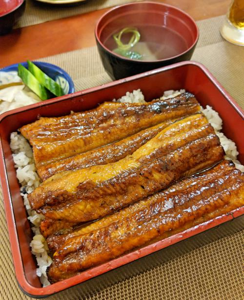 Delicious unagi (grilled eel) at Matsumian, one of the est Japanese restaurant in Ho Chi Minh City