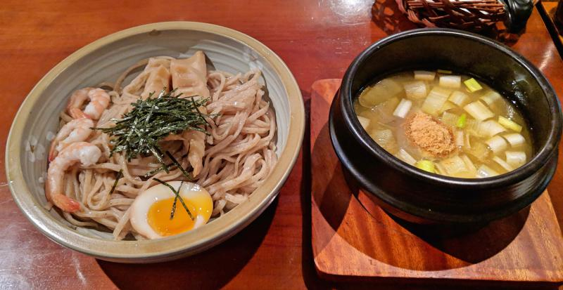 Ebi shio tsusekemen at Tsukemen Daigo at Ho Chi Minh City - one of the best Japanese restaurants