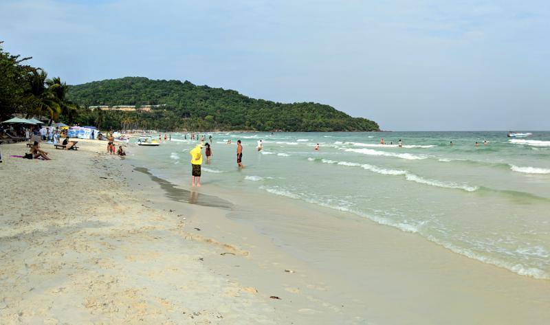 Sao Beach on Phu Quoc Island, Vietnam