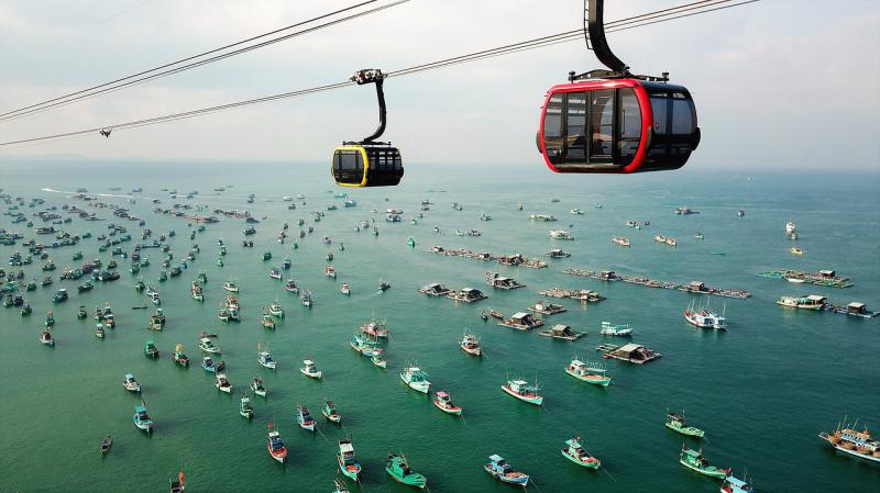 Phu Quoc Island's Longest Cable Car Ride
