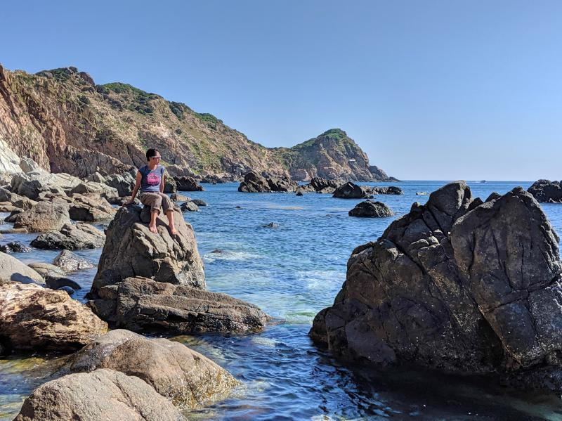 Eo Gio is one of the top things to do in Quy Nhon, Vietnam. You'll love walking along the paved pathway to the clean and blue ocean. While it's not recommended to swim in the water, you can see the views of the coastline from the large rocks.