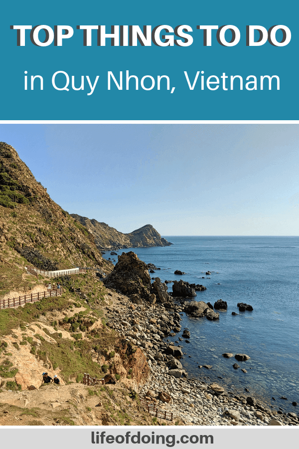 Quy Nhon, Vietnam is an amazing place to visit while you're in Central Vietnam. Our post has the top things to do in Quy Nhon and travel tips to help with your planning.