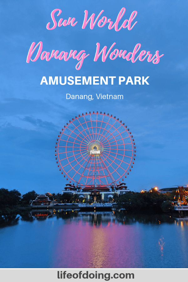 Check out our guide on Sun World Danang Wonders amusement park in Danang, Vietnam.