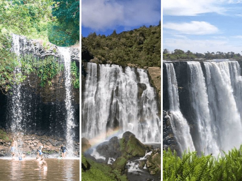 17 Remarkable Waterfalls In Africa, Australia, and New Zealand That You Must See