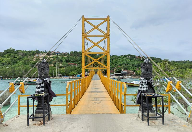 Golden Bridge to connect Nusa Lembongan to Nusa Ceningan