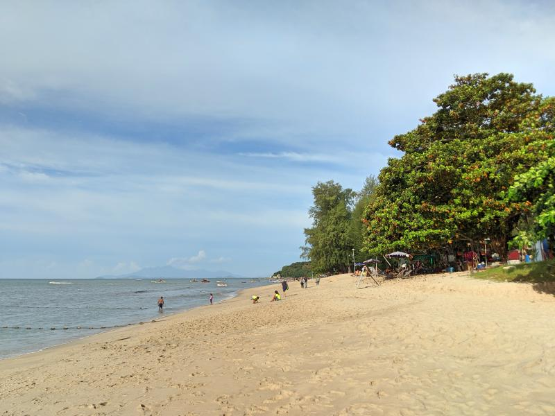 Batu Ferringhi is a beach close to Penang George Town. Relax on the beach or hire a jet ski.