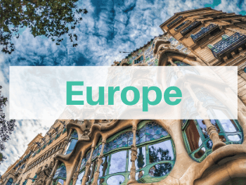 We're highlighting all of the Europe travel posts written by Life Of Doing. Photo is of the Casa Batlló in Barcelona, Spain.