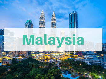 We're highlighting all of the Malaysia travel posts written by Life Of Doing. Photo is of the Petronas Twin Towers in Kuala Lumpur.