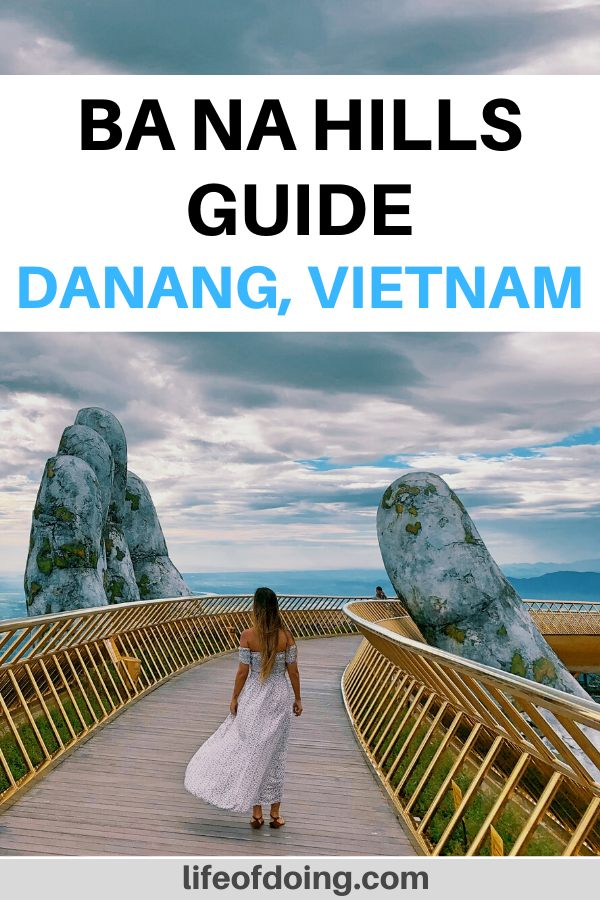 Here is our Ba Na Hills guide when you're visiting Danang, Vietnam. The guide includes more information on the famous Golden Bridge (Hands Bridge).