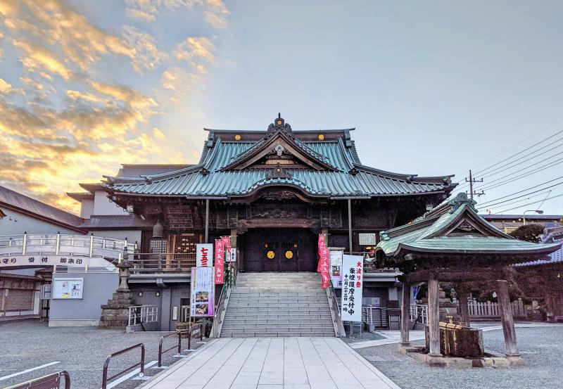 Kawagoe's Naritasan Kawagoe Betsuin is a small Buddhist temple that is right next to the popular Kitain Temple.
