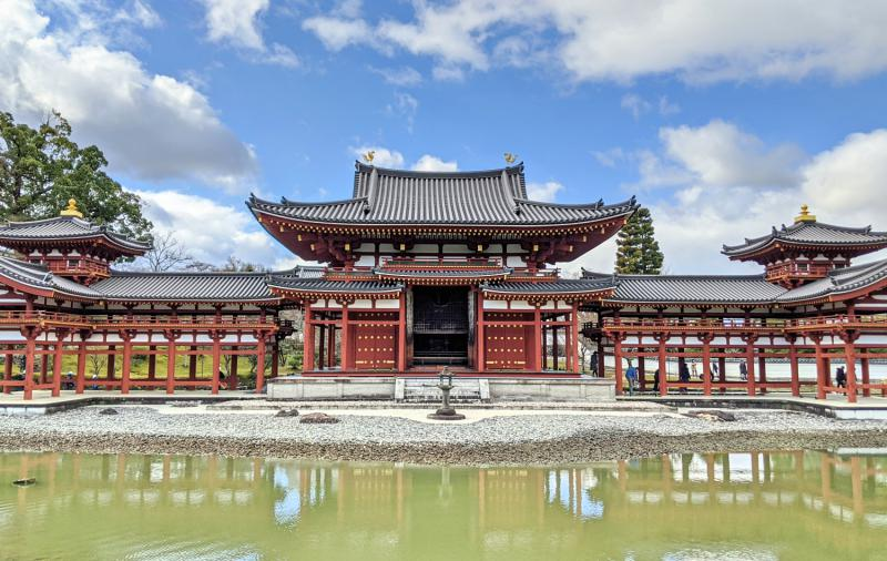 Byodoin Temple's Phoenix Hall is a popular attraction to visit in Uji, Japan.