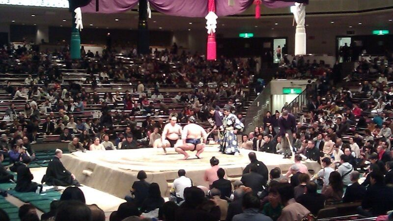 Watching a sumo wrestling tournament is one of the unique things to do in Tokyo, Japan.