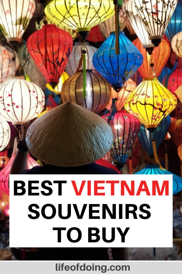 Vietnam has lots of souvenirs to buy such as colorful lanterns and conical hats. This post will show you what to buy in Vietnam on your next trip.