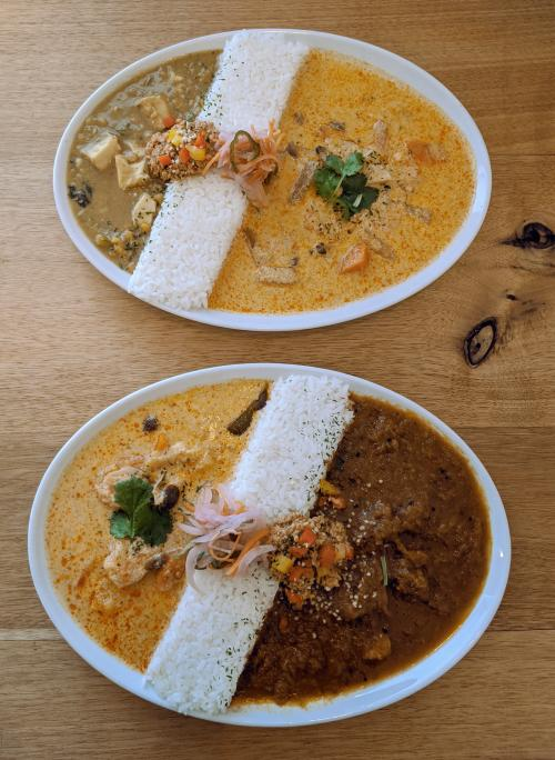 Check out Spice Suehiro as a place to eat in Himeji, Japan. They sere delicious curries.