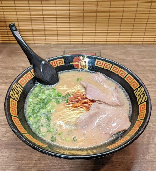 Ichiran Ramen is a popular place to eat tonkotsu ramen, and it's also an affordable option when you're in Osaka.