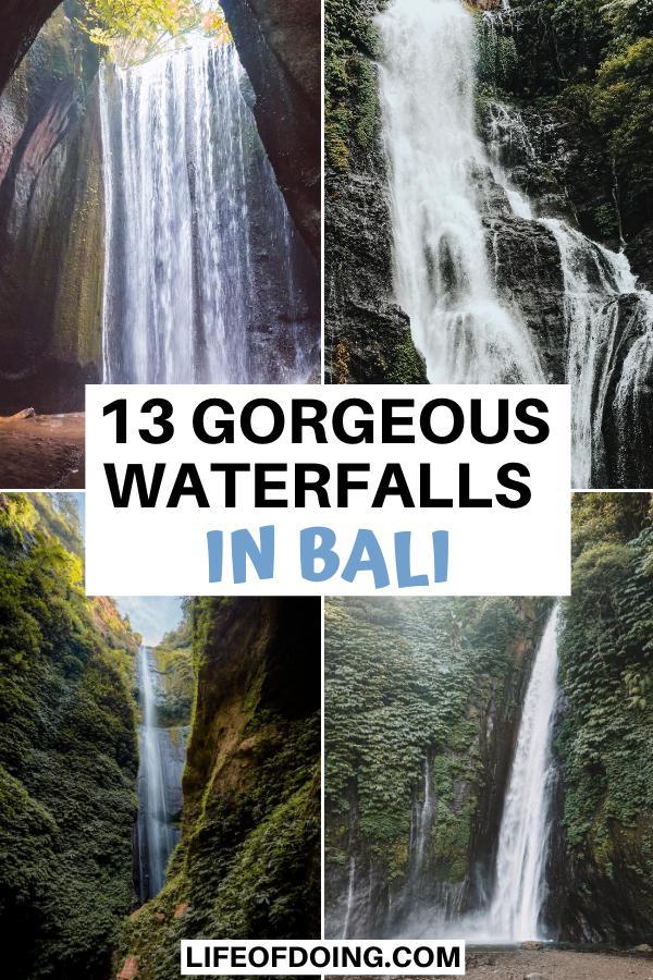 Check out the most beautiful waterfalls in Bali, Indonesia such as Sekumpul, Banyumala, Tukad Cepung, and Munduk.
