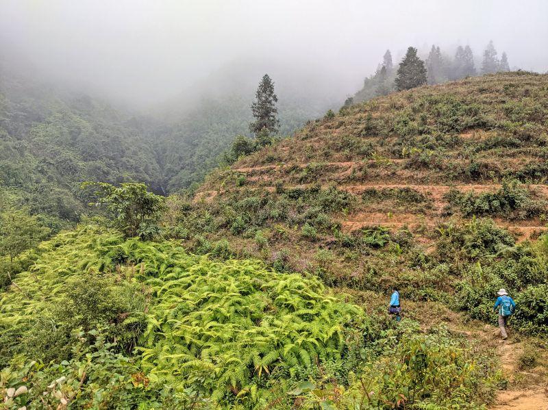 Zaazaa from Zaazaa Trekking and Jackie Szeto, Life Of Doing, trek along the mountains of Sapa, Vietnam