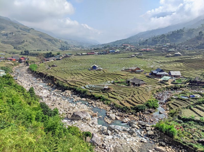 During your Sapa 2 day trek through Lao Chai and Ta Van village, you'll see the incredible rice fields and terraces.